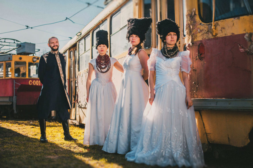 DakhaBrakha – is world-music quartet from Kyiv, Ukraine.